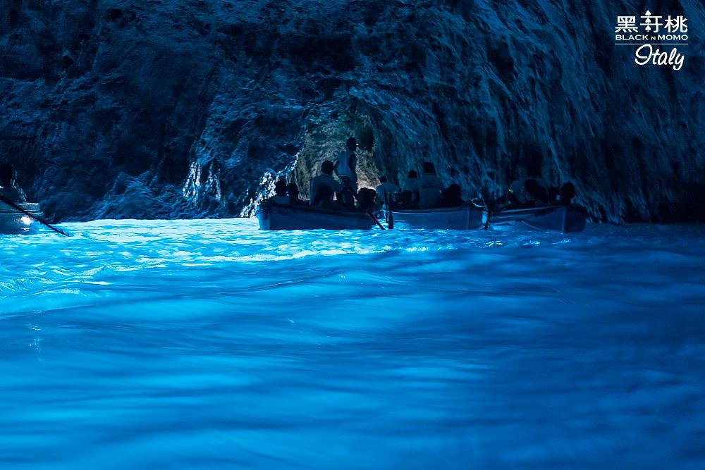 卡布里島藍洞 Grotta Azzurra