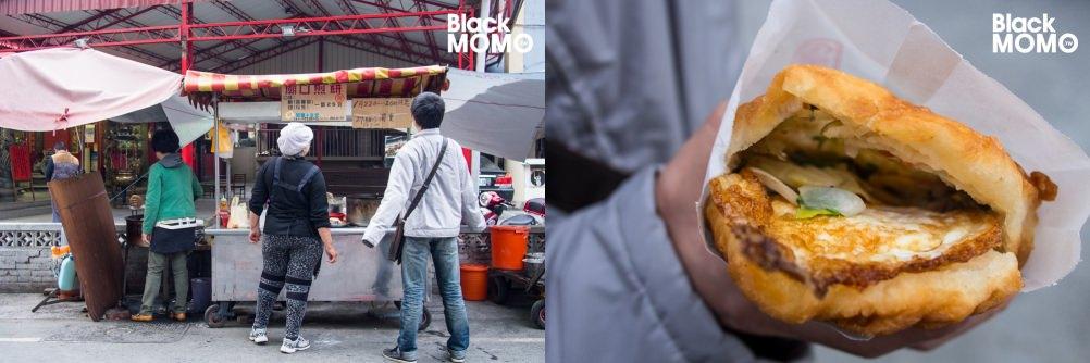 長榮街廟口煎餅