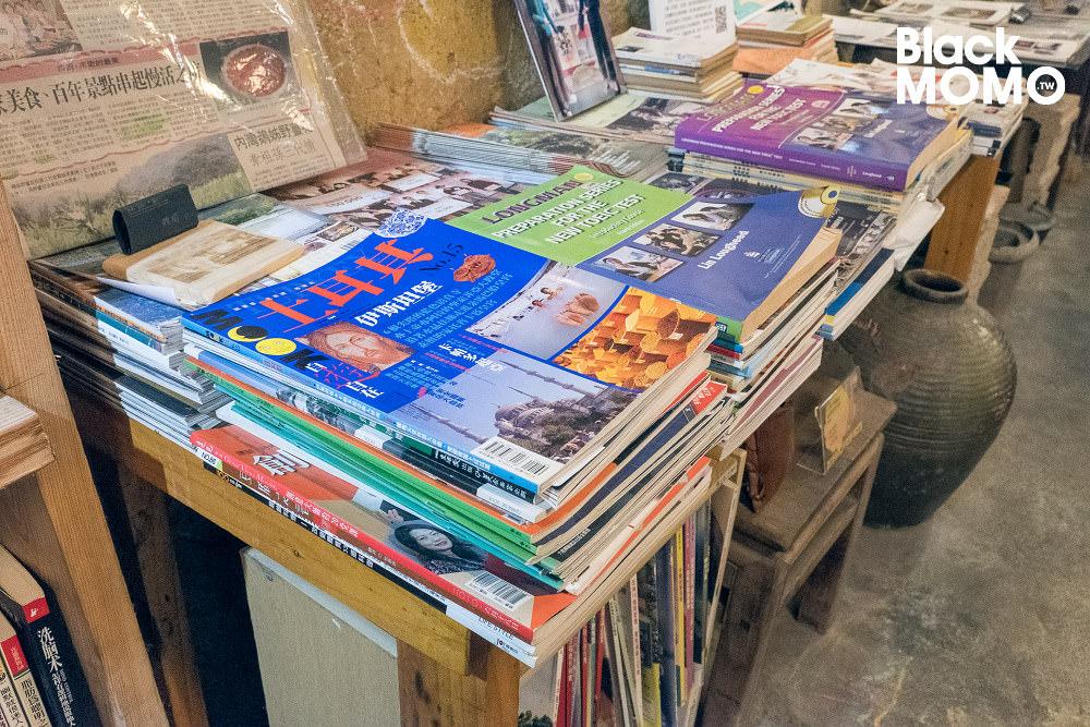 石店子69有機書店