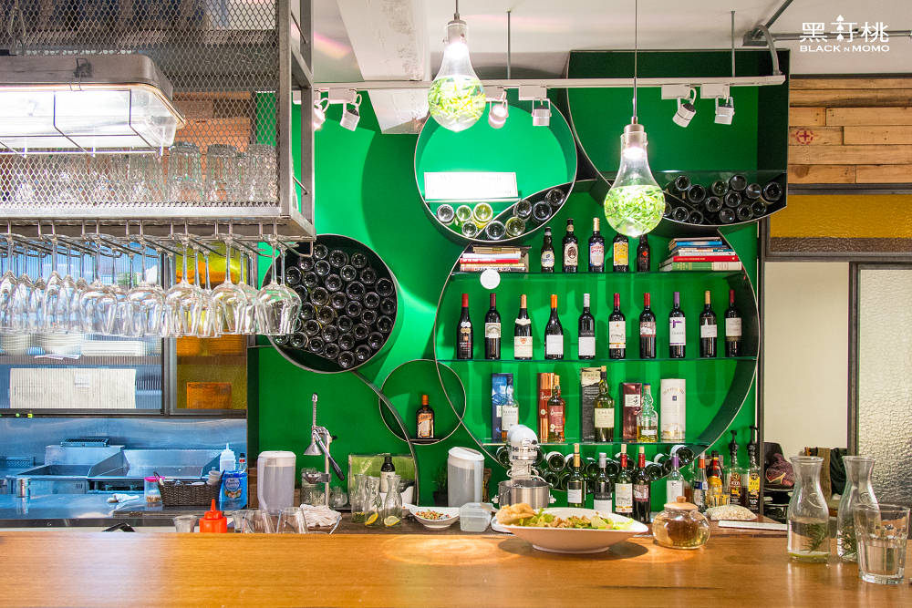 二本餐廳,Herban Kitchen & Bar,台北美食,台北蔬食,東區餐廳